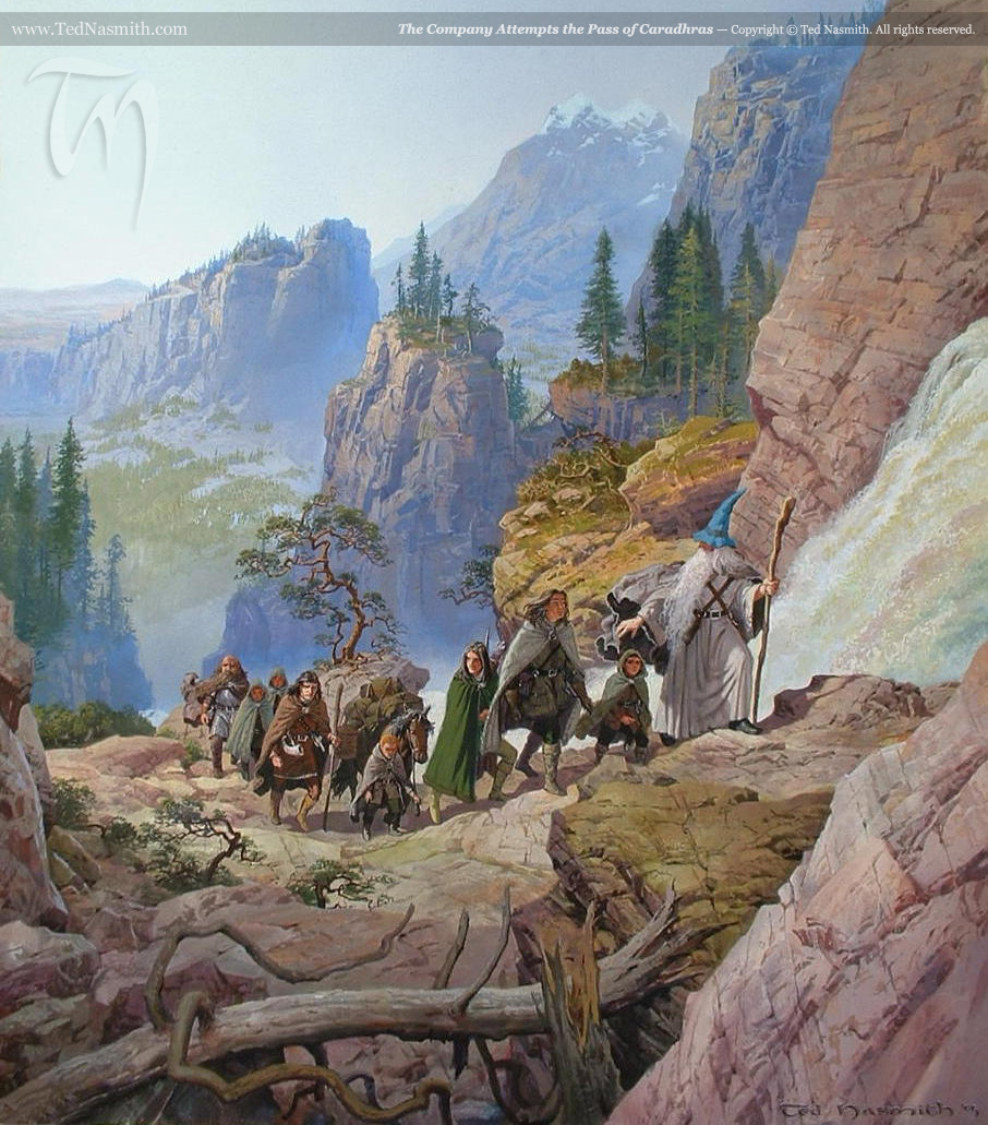 Lord Of The Rings Art Ted Nasmith