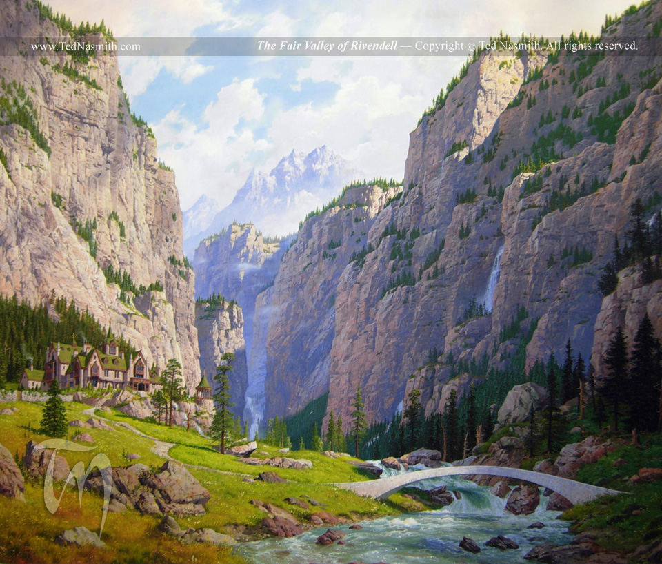Image result for the fair valley of rivendell