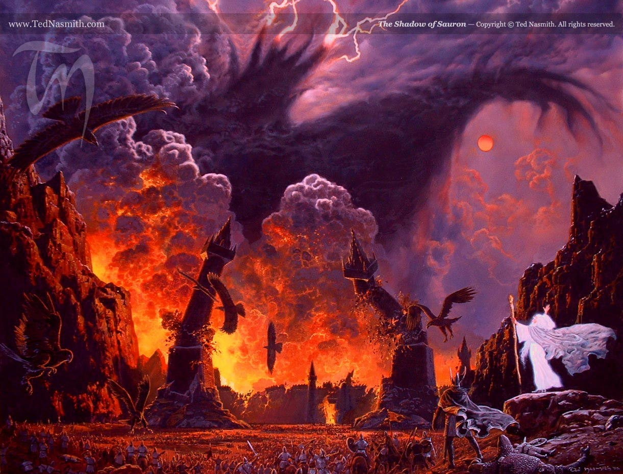 The Shadow of Sauron – Ted Nasmith