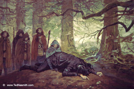 Permanent link to this article: http://www.tednasmith.com/tolkien ...  The Children Of Hurin Art