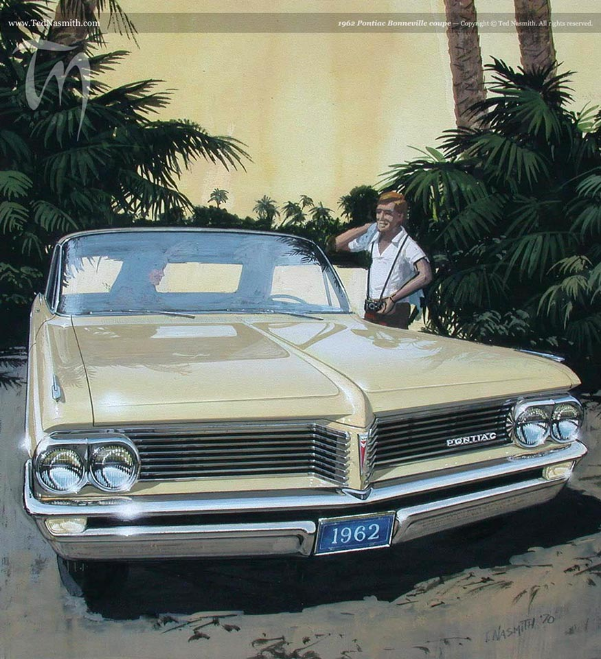 1962 Pontiac Bonneville Coupe Ted Nasmith