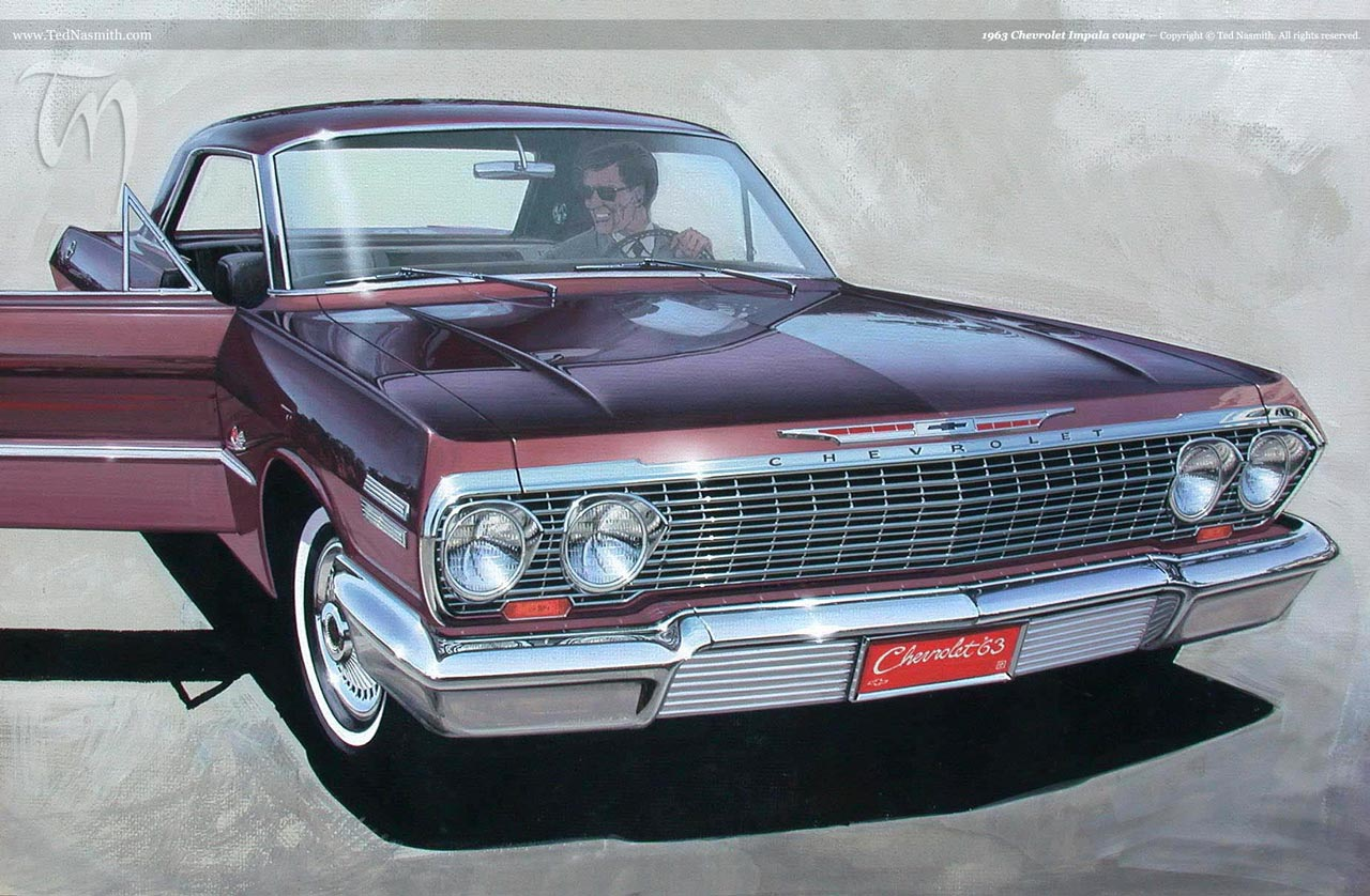 1963 Chevrolet Impala and Impala SS intreior, specs, review