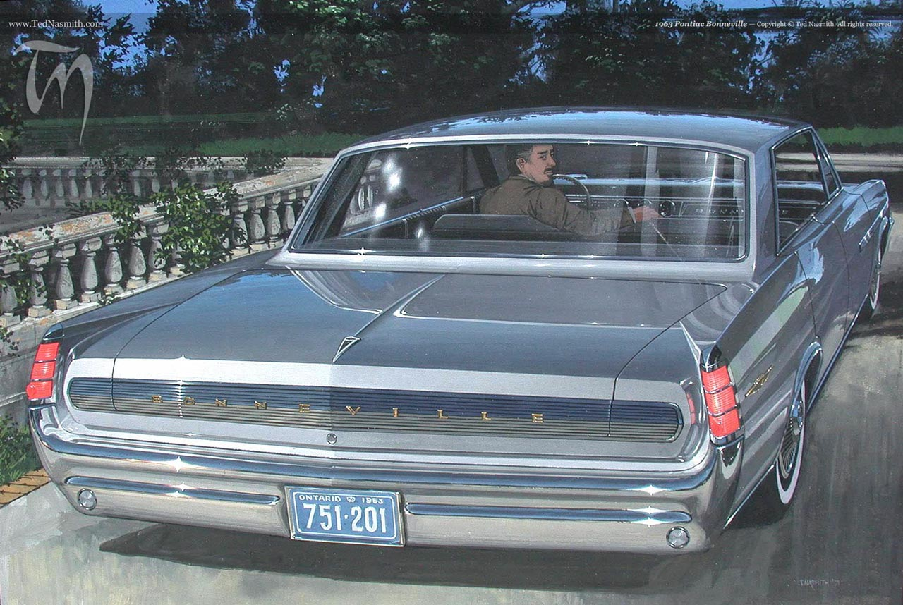 1963 Pontiac Bonneville Ted Nasmith