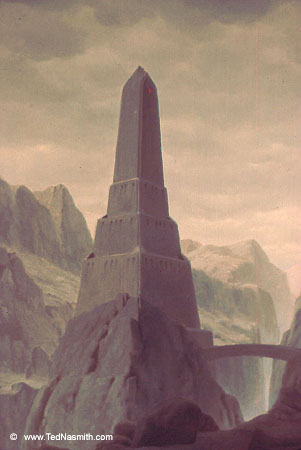 The Tower Of Barad Dur Ted Nasmith